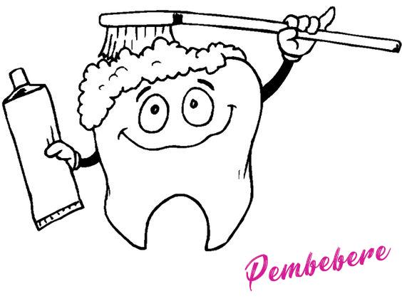 Dişlerimizi Fırçalayıp Korumalıyız Okul öncesi Boyama Sayfaları